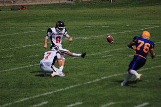 Calgary Colts - Image: Calgary Colts Convert Kick