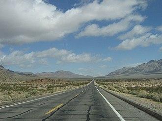 Nopah Range - Nopah Range, near California State Route 127