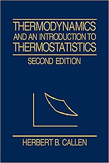 List Of Textbooks In Thermodynamics And Statistical Mechanics Wikipedia