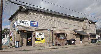 "Leonidas, New Orleans - ""Pegion Town Food Market"" Leonidas Street"