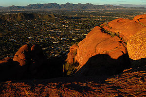 Camelback Mountain - Image: Camelback Mountain September 2008