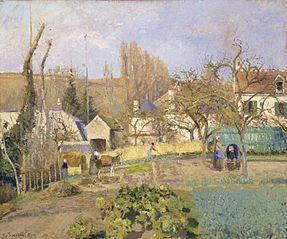Kitchen Gardens at L'Hermitage, Pontoise
