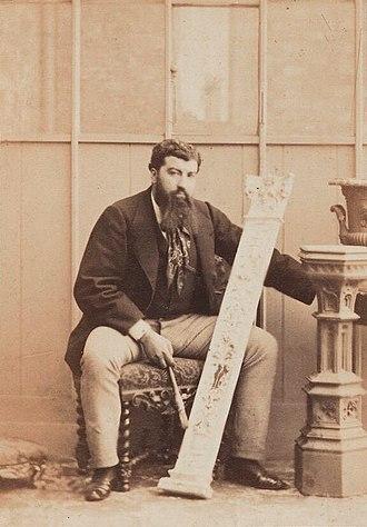 Camille Silvy - Image: Camille Silvy by Camille Silvy albumen print 1860