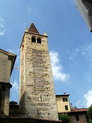 Santi Apostoli, Verona - Belltower
