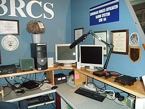 Canadian Forces Affiliate Radio System - CFARS station CIW64 at CFB Kingston's signals museum