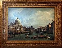 Canaletto, veduta del canal grande della collezione alighiero 00.jpg