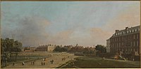 Canaletto - London, The Old Horse Guards from St James Park L02305.jpg