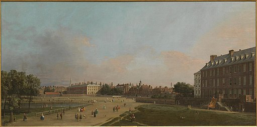 Canaletto - London, The Old Horse Guards from St James Park L02305