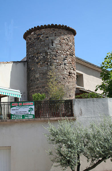 Canet (Hérault) - tour, avenue du Commandant Demarne.