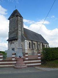 Canettemont - Eglise et monument aux morts - 2.JPG