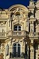 Cannes - Boulevard de la Croisette - View North & Up on Carlton Hotel I.jpg