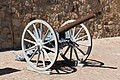 Cannon on the east side of Örebro Castle.jpg