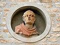 Canonica della chiesa della Natività di Maria Vergine, particolare (Cassana, Ferrara) 03.jpg
