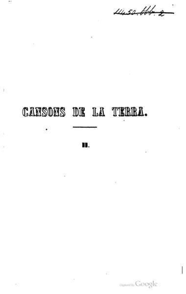 File:Cansons de la terra (1867).djvu