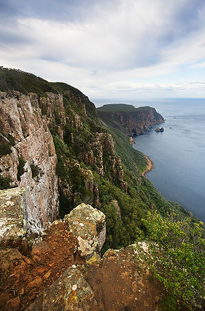 Cape Raoul - Image: Cape Raoul from Lookout