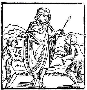 Inca Empire - The first image of the Inca in Europe, Pedro Cieza de León, Cronica del Peru, 1553