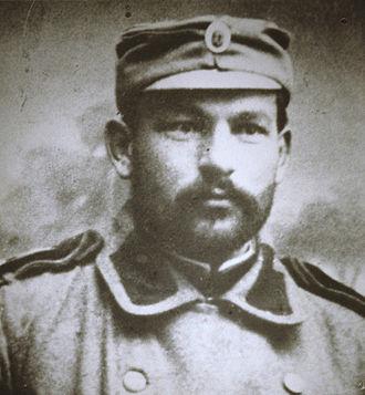 Massacres of Albanians in the Balkan Wars - Captain Dimitrije Tucović