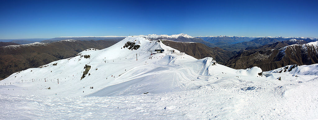 Captains Basin view at Cadrona Skifield