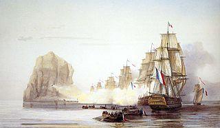 Naval battle of the Napoleonic Wars