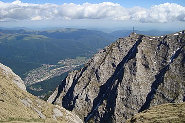Caraiman Cross on Bucegi mountain top.jpg