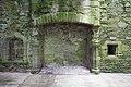Cardoness Castle - interior view of fireplace.jpg