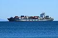 Cargo ship off Mount Maunganui (5643876569).jpg