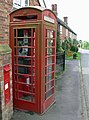 Carlton, Phone box along Main Street - geograph.org.uk - 924977.jpg