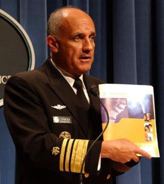 Richard Carmona - Carmona releases a report on osteoporosis.