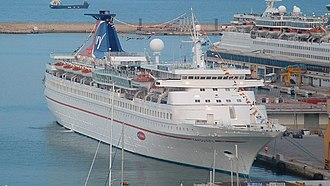 MV Ocean Star Pacific - The Carousel in May 2003.