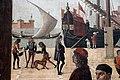 Carpaccio, storie di s.orsola 01 Arrivo degli ambasciatori inglesi alla corte del re di Bretagna, 1495 circa, 06.JPG