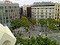 Carrer de Mallorca des-de la terrassa de l'Hotel Condes de Barcelona.jpg