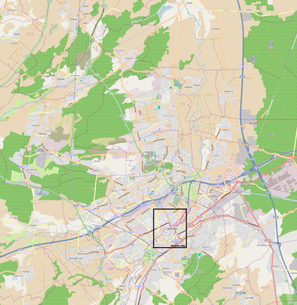 plan c Mulhouse