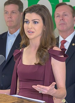Casey DeSantis talks about Education in Orlando (cropped).jpg