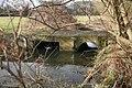 Cast bridge on the brook - geograph.org.uk - 1756173.jpg