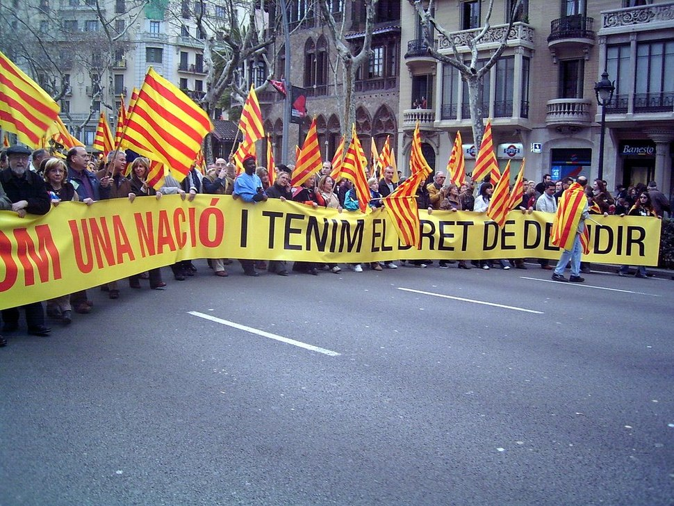 Catalunya is a Nation