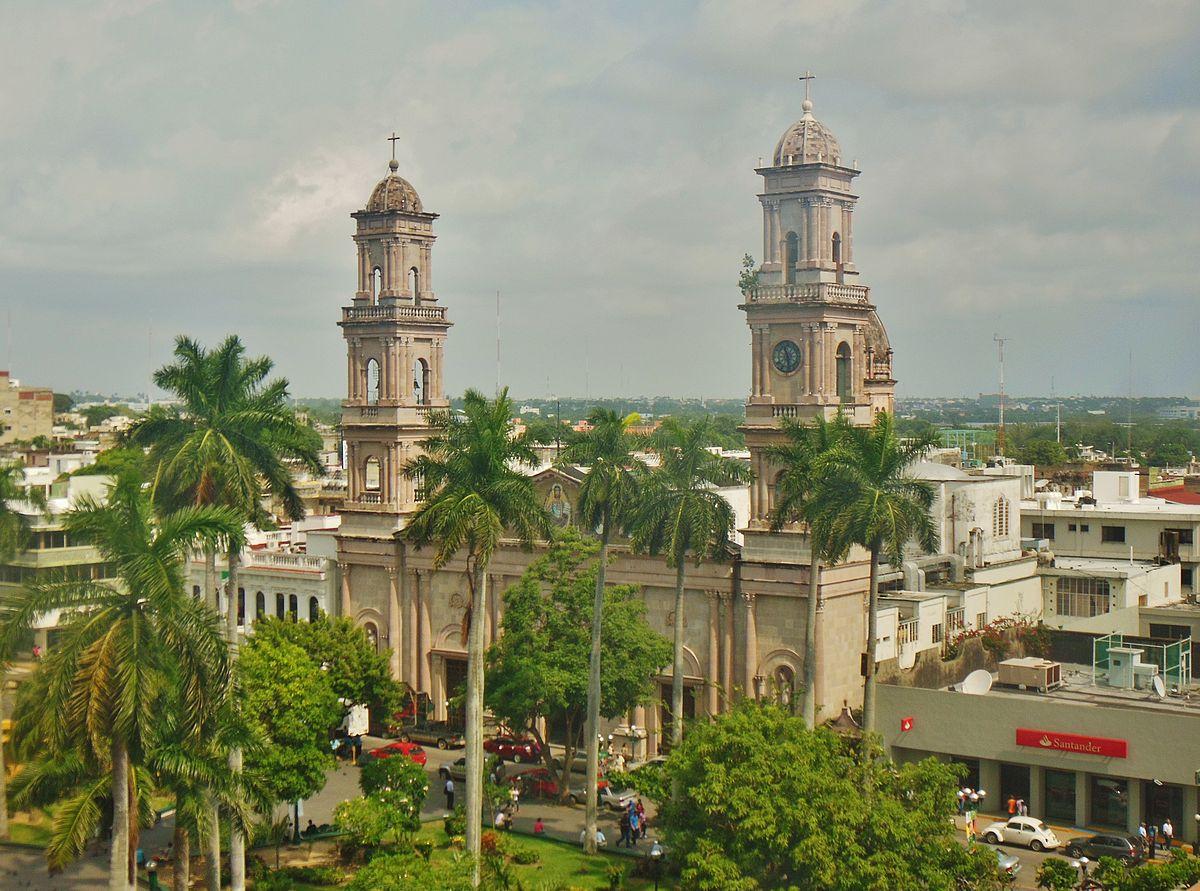 panorámica del centro histórico de Tampico