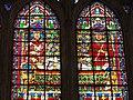 Cathédrale de Toul, vitrail de l'Invention des reliques de saint Étienne détail A.JPG