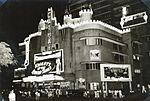 Cathay Cinema and Hotel by night, Singapore, 1954 (4435981577).jpg