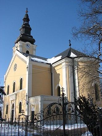Cathedral of Hajdúdorog - The South-Eastern façade