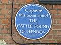 Cattle Pound of Hendon site plaque.jpg