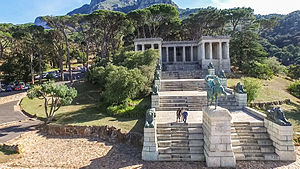 Rhodes Memorial - The memorial sits on Devil's peak nearby the University of Cape Town