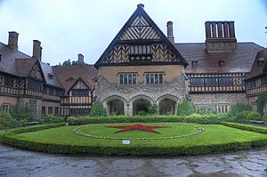Potsdam Conference - Cecilienhof, site of the Potsdam Conference, pictured in 2014.