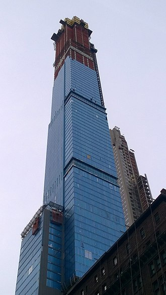 Central Park Tower - Central Park Tower under construction on February 22, 2019.
