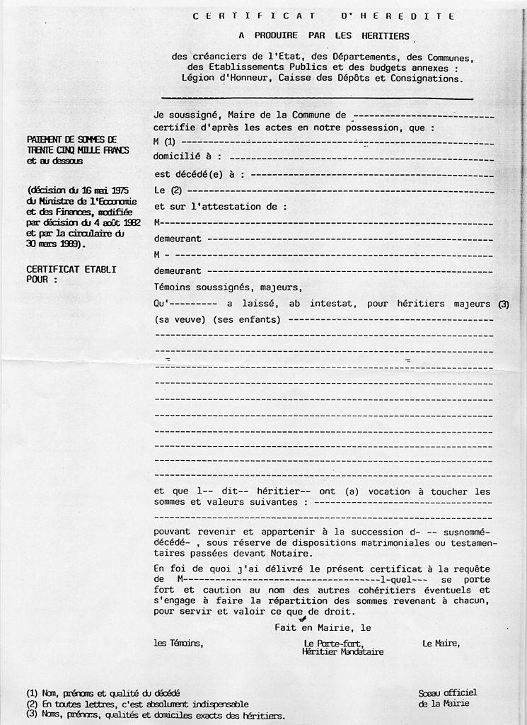 FileCertificat DHrdit ViergeJpg  Wikimedia Commons