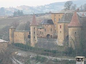 Rhône (department) - Image: Château de Jarnioux 1
