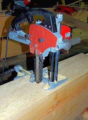 Chain mortiser, kettingfreesmachine.jpg