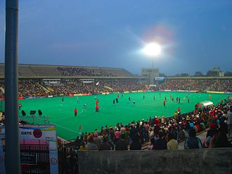 Field hockey in India - International hockey match in Chandigarh