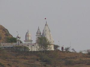Chandwad - Image: Chandwad Chandrashwer Temple Closeup