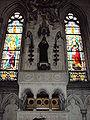 Chapelle de Sainte Marguerite-Marie Alacoque (vue vers le haut).jpg