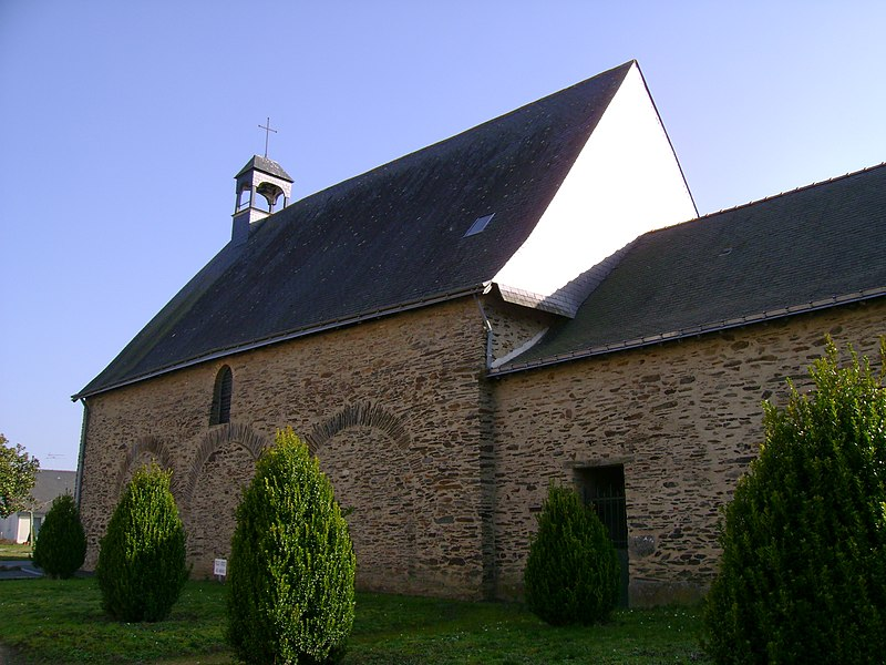 Chapelle Saint-Jean, à Candé, 49, France